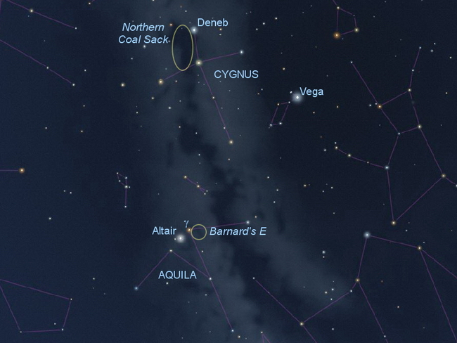 Dark Nebula chart
