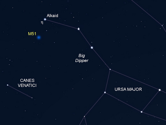 M51 finderchart