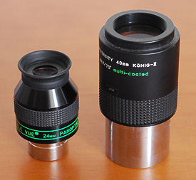 Low-power eyepieces