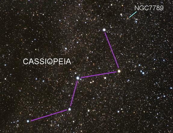 NGC7789 chart